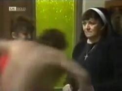 Pam Willis, Doug Willis, Mother Superior in Neighbours Episode 1583
