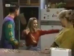 Josh Anderson, Lucy Robinson, Helen Daniels in Neighbours Episode 1583