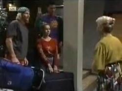 Brad Willis, Josh Anderson, Lucy Robinson, Helen Daniels in Neighbours Episode 1583