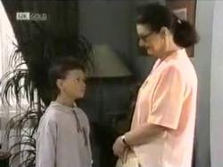 Toby Mangel, Dorothy Burke in Neighbours Episode 1584