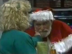 Brenda Riley, Santa Claus in Neighbours Episode 1584