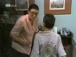 Dorothy Burke, Toby Mangel in Neighbours Episode 1584