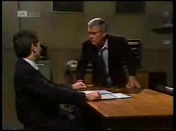 Detective Burns, Lou Carpenter in Neighbours Episode 1698