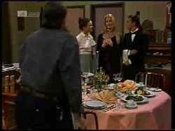 Doug Willis, Gaby Willis, Phoebe Bright, Todd Landers in Neighbours Episode 1699