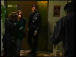 Pam Willis, Jill Weir, Cameron Hudson, Doug Willis in Neighbours Episode 1699