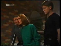 Doug Willis, Jill Weir, Cameron Hudson in Neighbours Episode 1699