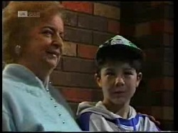 Barbara Weir, Ross Weir in Neighbours Episode 1699