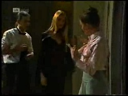Todd Landers, Phoebe Bright, Gaby Willis in Neighbours Episode 1699