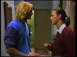 Brad Willis, Todd Landers in Neighbours Episode 1700