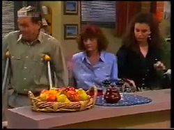 Doug Willis, Pam Willis, Gaby Willis in Neighbours Episode 1700