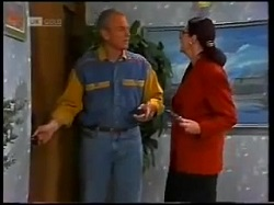 Jim Robinson, Dorothy Burke in Neighbours Episode 1700