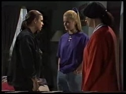 Todd Landers, Phoebe Bright, Dorothy Burke in Neighbours Episode 1702