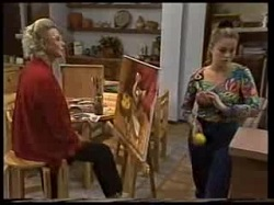 Helen Daniels, Lucy Robinson in Neighbours Episode 1702