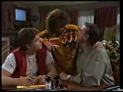 Pam Willis, Cameron Hudson, Doug Willis in Neighbours Episode 1702