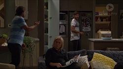 Brad Willis, Lauren Turner, Ned Willis in Neighbours Episode 7371