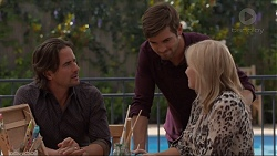 Brad Willis, Ned Willis, Lauren Turner in Neighbours Episode 7372