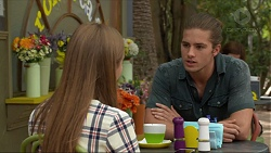Piper Willis, Tyler Brennan in Neighbours Episode 7373