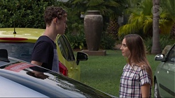 Brodie Chaswick, Piper Willis in Neighbours Episode 7373
