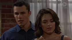 Jack Callaghan, Paige Novak in Neighbours Episode 7373