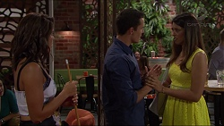 Paige Smith, Jack Callahan, Mandy Franze in Neighbours Episode 7374