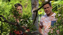 Sonya Rebecchi, Aaron Brennan in Neighbours Episode 7374