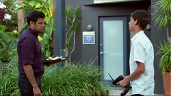 Nate Kinski, Archie Quill in Neighbours Episode 7374