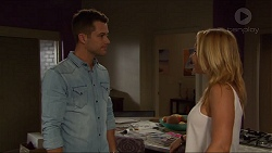 Mark Brennan, Steph Scully in Neighbours Episode 7374
