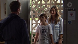 Paul Robinson, Jimmy Williams, Amy Williams in Neighbours Episode 7375