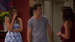 Mandy Franze, Jack Callaghan, Paige Novak in Neighbours Episode 7375
