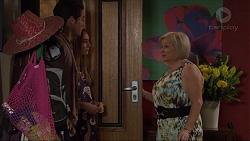 Ben Kirk, Piper Willis, Sheila Canning in Neighbours Episode 7375