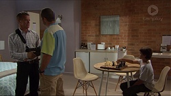 Paul Robinson, Toadie Rebecchi, Jimmy Williams in Neighbours Episode 7375