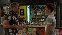 Karl Kennedy, Angus Beaumont-Hannay in Neighbours Episode 7375