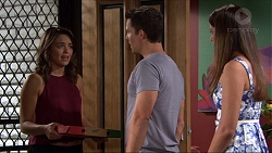 Paige Novak, Jack Callaghan, Mandy Franze in Neighbours Episode 7375
