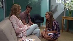 Xanthe Canning, Ben Kirk, Piper Willis in Neighbours Episode 7375