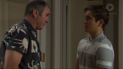 Karl Kennedy, Angus Beaumont-Hannay in Neighbours Episode 7376