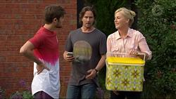 Ned Willis, Brad Willis, Lauren Turner in Neighbours Episode 7376