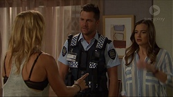 Steph Scully, Mark Brennan, Amy Williams in Neighbours Episode 7376