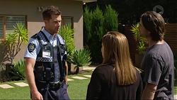 Mark Brennan, Terese Willis, Brad Willis in Neighbours Episode 7376
