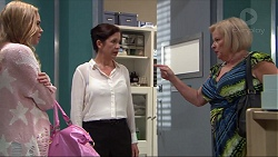 Xanthe Canning, Tess Land, Sheila Canning in Neighbours Episode 7376
