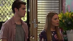 Ben Kirk, Piper Willis in Neighbours Episode 7377