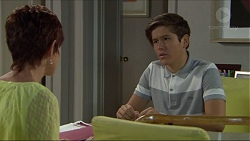 Susan Kennedy, Angus Beaumont-Hannay in Neighbours Episode 7377