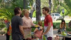 Brad Willis, Lauren Turner, Ned Willis in Neighbours Episode 7377