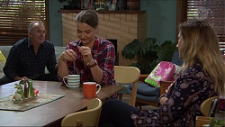 Walter Mitchell, Amy Williams, Sonya Mitchell in Neighbours Episode 7378