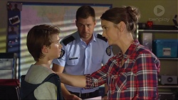 Jimmy Williams, Mark Brennan, Amy Williams in Neighbours Episode 7378