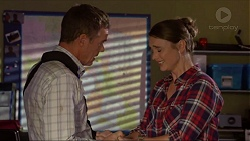 Paul Robinson, Amy Williams in Neighbours Episode 7378