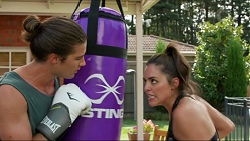 Tyler Brennan, Paige Smith in Neighbours Episode 7379