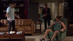 Mark Brennan, Aaron Brennan, Tyler Brennan in Neighbours Episode 7379