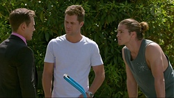 Aaron Brennan, Mark Brennan, Tyler Brennan in Neighbours Episode 7379