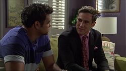 Nate Kinski, Aaron Brennan in Neighbours Episode 7379