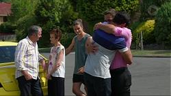 Karl Kennedy, Susan Kennedy, Tyler Brennan, Nate Kinski, Aaron Brennan in Neighbours Episode 7379